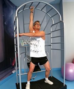 Klatka do stretchingu